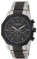 Akribos XXIV Men's Swiss Quartz Multifunction Stainless Steel Bracelet Watch