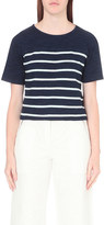 AG Jeans Vex cotton-jersey top