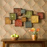 Home Decorators Collection 41-1/2 in. W x 20-3/4 in. H Bijou Metal Wall Sculpture