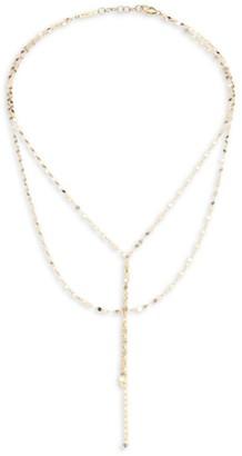 Lana Girl Mini Blake 14K Yellow Gold Necklace