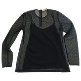 Burberry Black Polyester Top