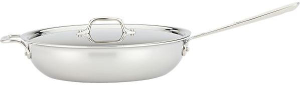 All-Clad Stainless Weeknight Pan with Lid.