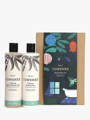 Cowshed Relax Bath & Body Duo Bodycare Gift Set