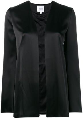 Galvan satin evening jacket