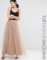 True Decadence Tall All Over Tulle Full Maxi Skirt