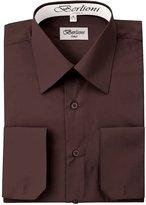 Berlioni Solid Mens Dress Shirt