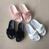 FENTY PUMA Puma X Rihanna Leadcat Fur Slide Women's Sandals