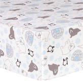 TREND LAB, LLC Trend Lab Igloo Friends Flannel Crib Sheet