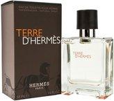 Hermes Men's Terre d' Eau de Toilette Natural Spray, 1.6-Fluid Ounce