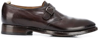 Officine Creative Single-Strap Leather Shoes