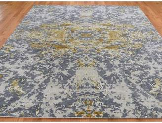 """Circe Williston Forge One-of-a-Kind Hand-Knotted Runner 2'9"""" x 8' Cotton Red Area Rug Williston Forge"""