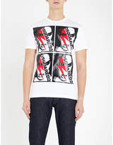Dsquared2 Lightning bolt-print cotton-jersey T-shirt