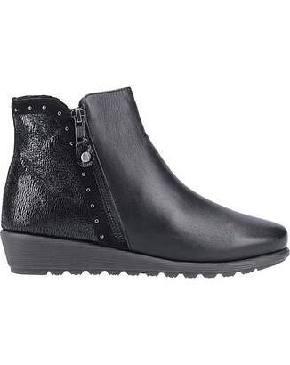 Hush Puppies Betty Zip Up Ankle Boot