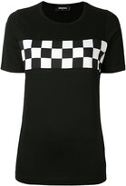 DSQUARED2 checkered T-shirt