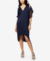 Rachel Roy High-Low Flutter-Sleeve Dress, Only at Macy's