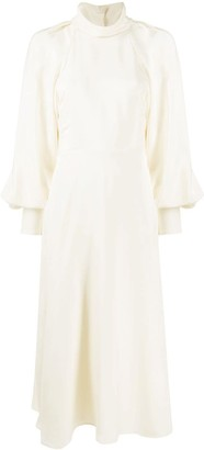 Victoria Beckham Cowl-Neck Maxi Dress