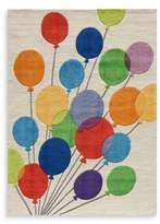 Momeni 'Lil Mo Whimsy LMJ-16 Multi Balloons Area Rug - 8-Foot x 10-Foot