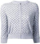 Michael Kors cashmere crystal-embellished cardigan - women - Cashmere - S