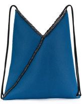 MM6 MAISON MARGIELA drawstring backpack - women - Cotton - One Size