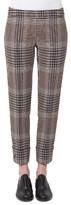 Akris Punto Women's Frankie Glen Check Pants
