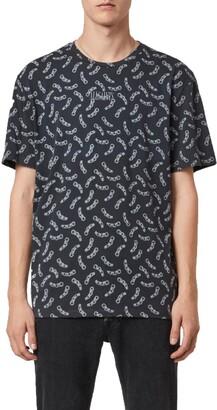 AllSaints Bonds Chain T-Shirt