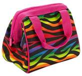 Fit & Fresh Kids Riley Insulated Lunch Bag in Rainbow Zebra
