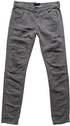 Diesel Black Gold Brown Cotton Jeans for Women