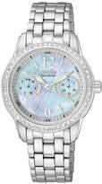 Citizen Women's Eco-Drive Stainless Steel Bracelet Watch 30mm FD1030-56Y