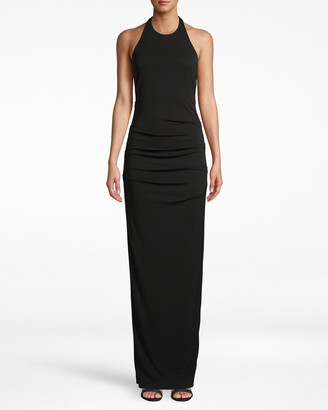 Nicole Miller Stretchy Matte Jersey Adel Gown