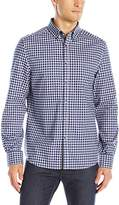 Kenneth Cole Reaction Men's Long Sleeve Check Shirt