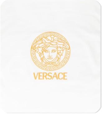 Versace Medusa-print reversible blanket