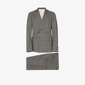 Gucci Check Wool Dinner Suit
