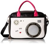 Betsey Johnson Lunch Tote Camera Chow Bella