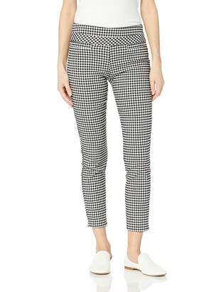 My Michelle Leighton By Womens Slim Mid-Rise Pull On Career Pant