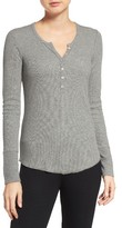 PJ Salvage Women's Thermal Henley