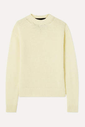 Marc Jacobs Runway Wool And Cashmere-blend Sweater - Pastel yellow
