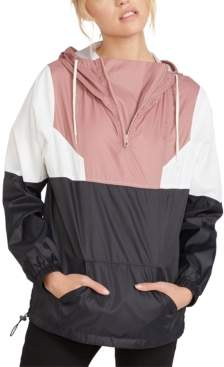 Volcom Juniors' Colorblocked Hooded Jacket