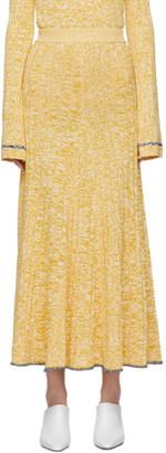 Joseph Yellow Sally Skirt
