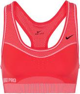 Nike Pro Classic Hypercool Limitless Stretch-jersey Sports Bra - Tomato red