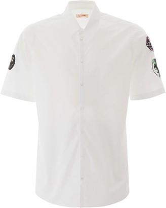 Raf Simons MULTI PATCH SHIRT 46 White Cotton