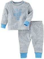 "Osh Kosh Baby Boy Life is Wonderful!"" Top & Pants Set"