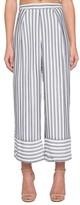 Willow & Clay Women's Stripe Wide Leg Crop Pants