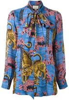 Gucci Bengal print blouse