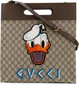 Gucci GG Supreme Donald Duck tote bag - men - Cotton/Leather - One Size