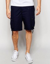 Pretty Green Shorts with Pocket in Navy