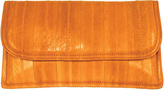 Latico Leathers Women's Eelskin Envelope Flap Clutch L8411