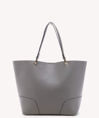 Sole Society Women's Layla Tote Vegan Leather Charcoal From