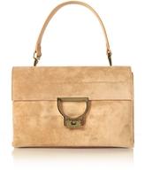 Coccinelle Cuoio Suede Arlettis Shoulder Bag