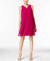 MSK Rhinestone Chiffon Flyaway Dress
