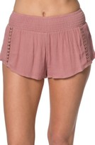 O'Neill Women's Elise Crochet Trim Shorts